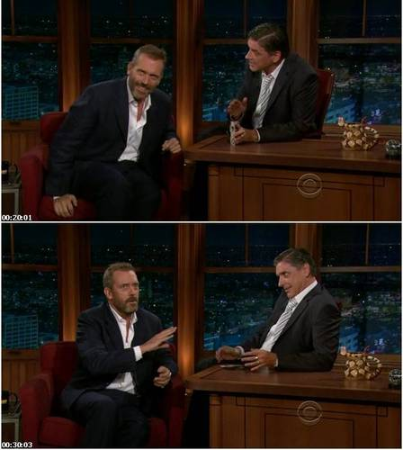 Hugh Laurie- Craig Ferguson 2011.08.22