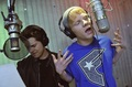 IN THE RECORDING STUDIO WITH ADAM HICKS - drew-seeley photo