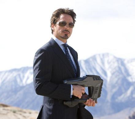 Iron Man The Movie wallpaper with a business suit, a suit, and a well dressed person called Iron Man!