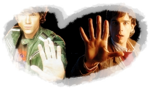 Jared Padalecki and Chris Gorham