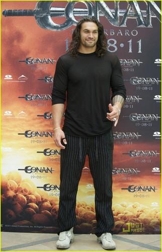 Jason Momoa: 'Conan the Barbarian' fotografia Call in Madrid!