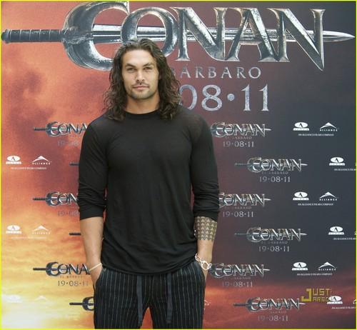 Jason Momoa: 'Conan the Barbarian' fotografia Call in Madrid!