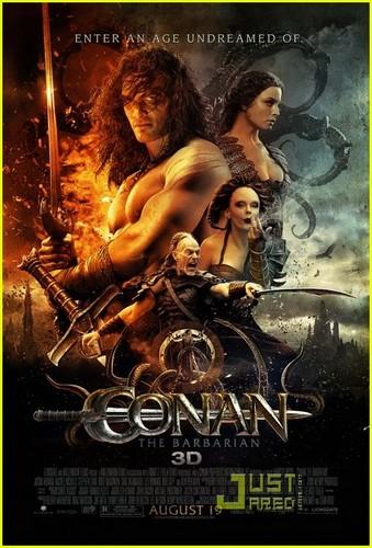 Jason Momoa: 'Conan the Barbarian' Posters!