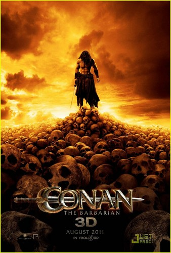 Jason Momoa: 'Conan the Barbarian' Posters!