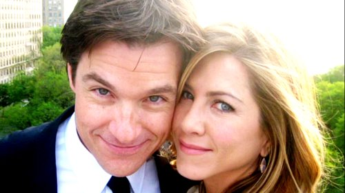 Jason Bateman wallpaper containing a business suit entitled Jason and Jen