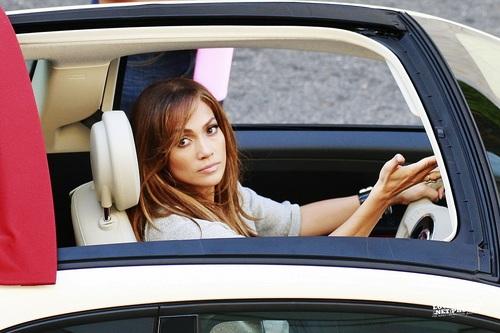 Jennifer - Fiat 500 Commercial - Set - August 22, 2011