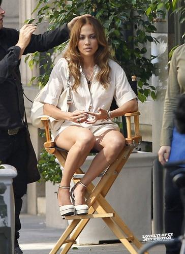 """Jennifer - muziek video set - """"Papi"""" Video set - August 20, 2011"""