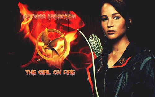 Jennifer as Katniss Everdeen