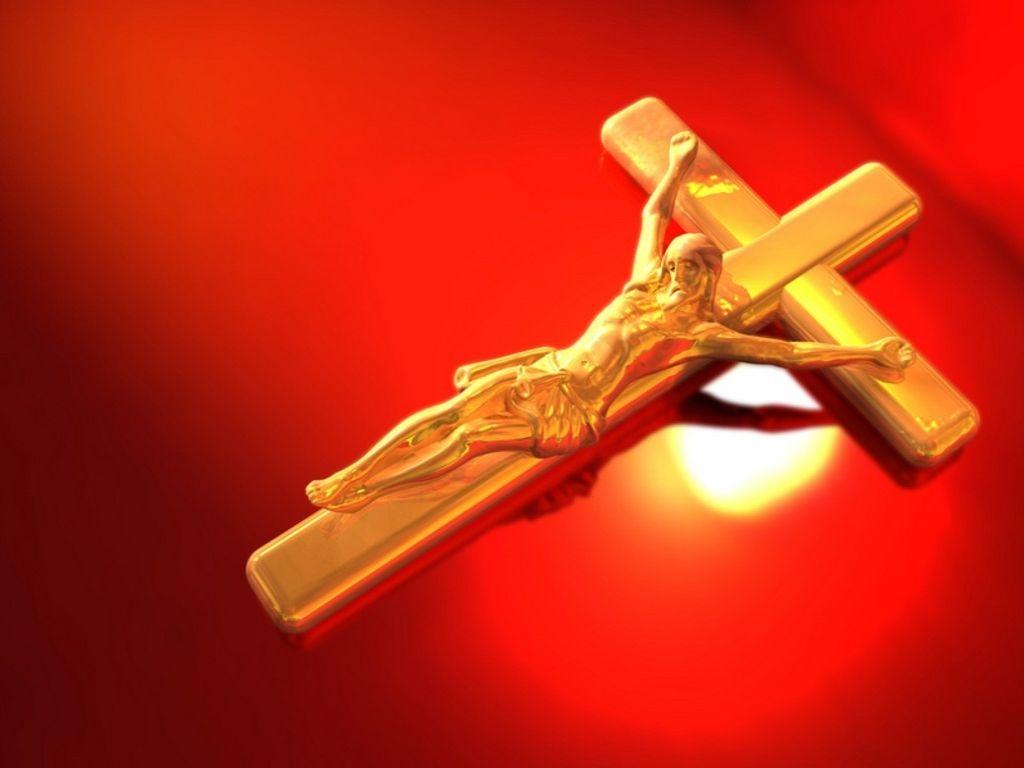 येशु On The पार करना, क्रॉस
