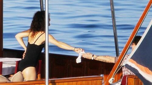 Johnny Depp and Vanessa bot Vajoliroja [20/08/2011]