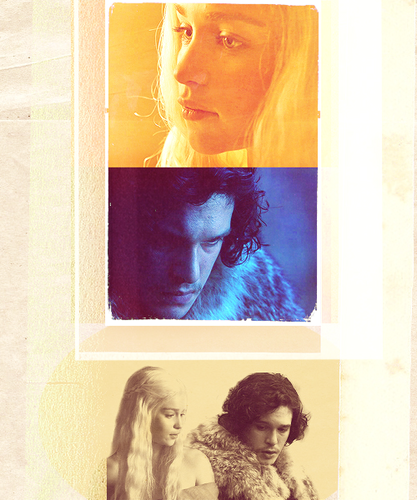 Jon & Dany - jon-and-daenerys Fan Art