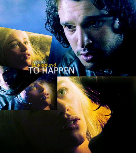 Jon & Daenerys wallpaper called Jon & Dany