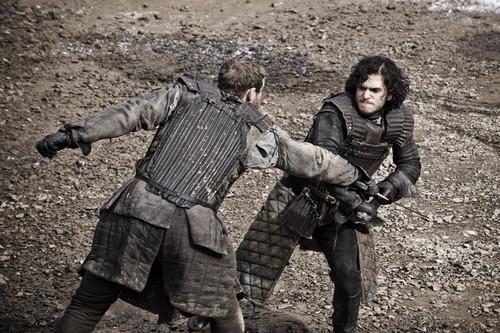 Jon Snow & Grenn