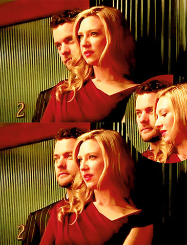 Anna Torv and Joshua Jackson দেওয়ালপত্র probably with a portrait called Josh & Anna <3