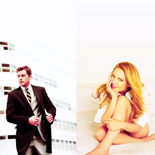 Anna Torv and Joshua Jackson fondo de pantalla containing a business suit and a suit entitled Josh & Anna <3
