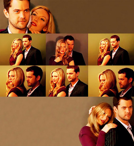 Anna Torv and Joshua Jackson wallpaper entitled Josh & Anna <3