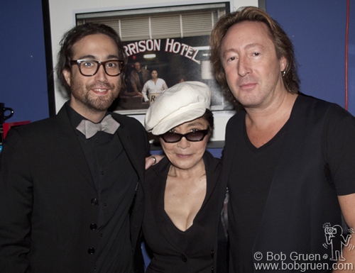 Julian, Sean and Yoko