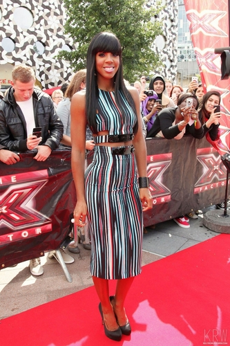 Kelly Rowland wallpaper called July 7 - The X Factor Auditions in London