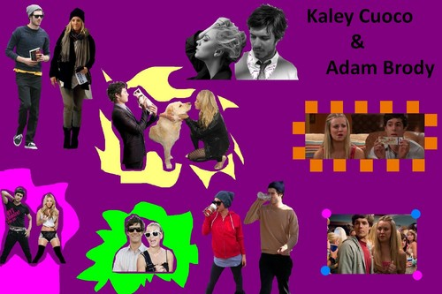 Kaley and Adam