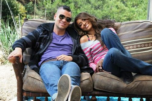 Kat Graham and Mark Salling