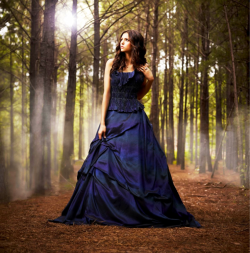 katherine pierce wallpaper possibly with a gown, a jantar dress, and a polonesa, polonês, polonaise titled Katherine