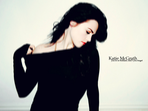 Katie McGrath wallpaper containing a well dressed person titled Katie