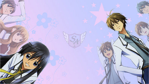 Special A wallpaper containing anime titled Kei x Hikari
