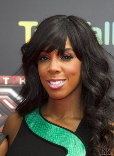 Kelly Rowland wallpaper possibly containing a portrait called Kelly Rowland at the X Factor Press Launch