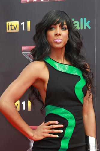 Kelly Rowland wallpaper with a leotard entitled Kelly Rowland at the X Factor Press Launch