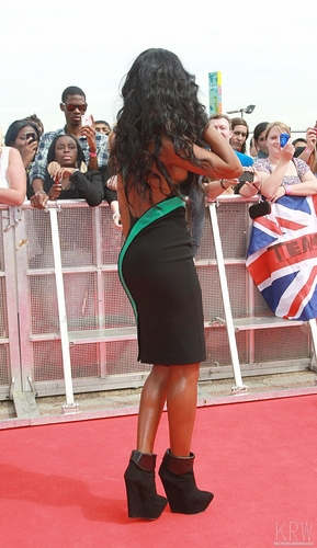 Kelly Rowland wallpaper entitled Kelly Rowland at the X Factor Press Launch