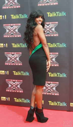 Kelly Rowland wallpaper titled Kelly Rowland at the X Factor Press Launch