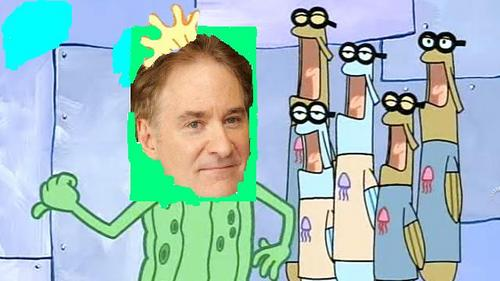 Kevin Kline as Kevin the Sea Cucumber