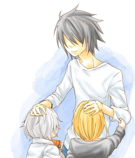 L, Mello, and Near - Death Note Fan Art (24796609) - Fanpop