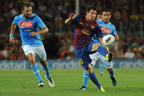 L. Messi (Barcelona - Napoli)