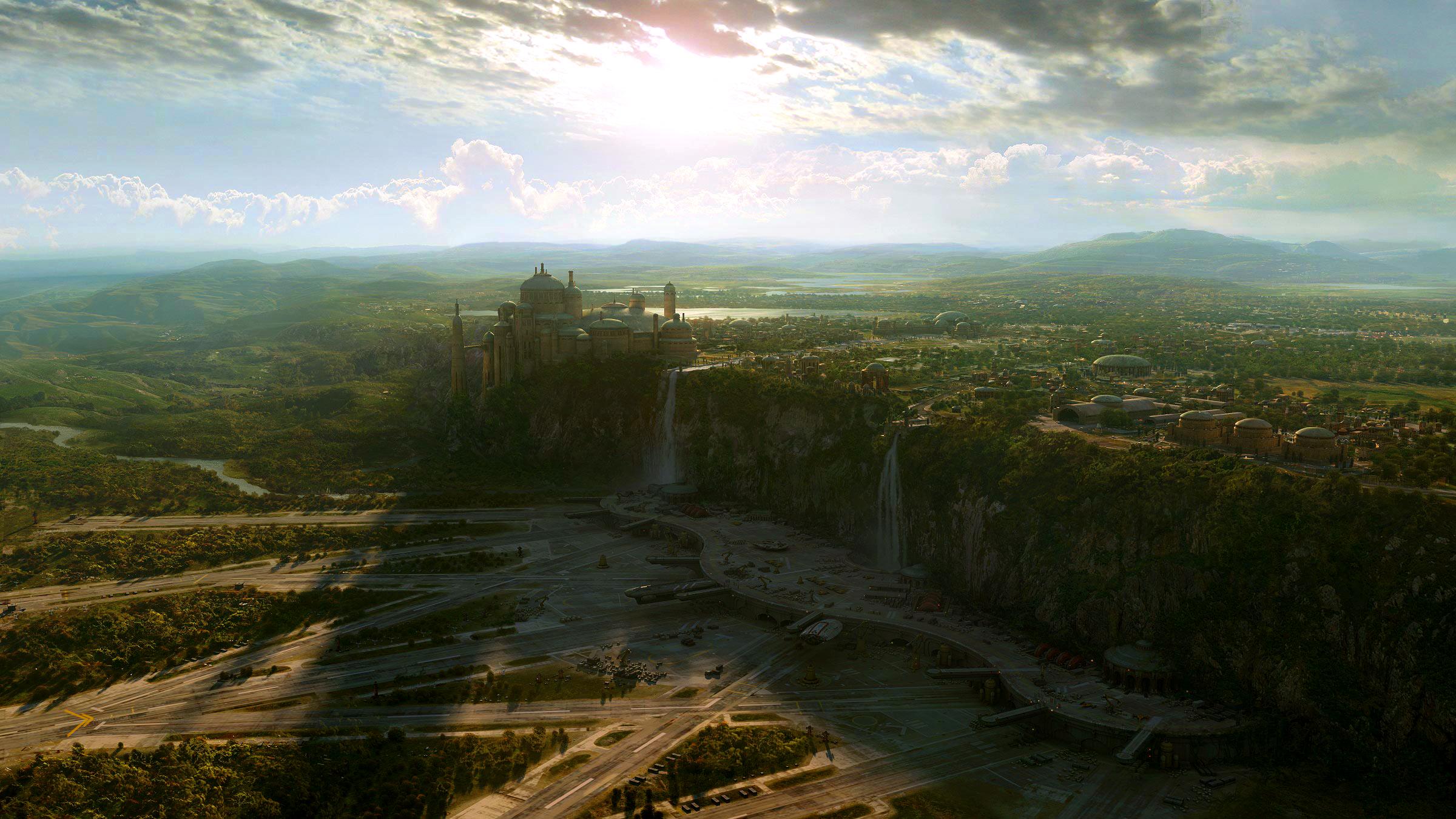 Landscape HD: Naboo (2400/1350)