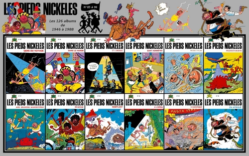 Les Pieds Nickelés albums from 85 to 96