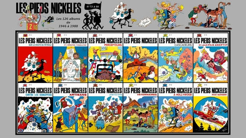 Les Pieds Nickeles albums full HD