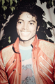 "MJ in his ""Beat It"" jacket - michael-jackson photo"