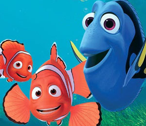 Marlin, Dory & Nemo - finding-nemo Photo