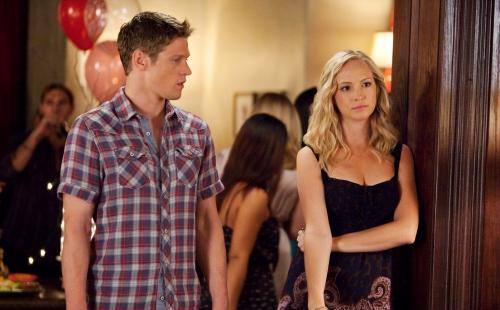 Matt and Caroline at the Party