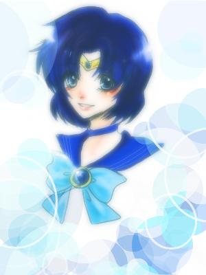 Sailor Mercury Hintergrund entitled Mercury