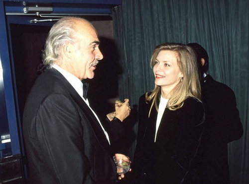 Michelle Pfeiffer and Sean Connery