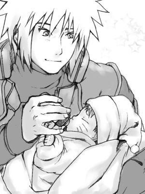 Minato & Baby Naruto