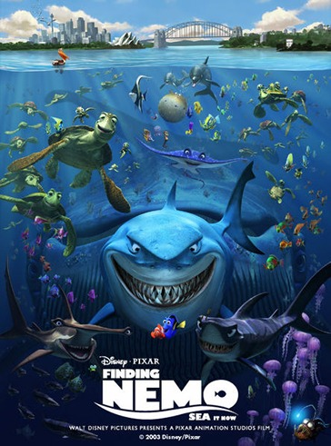 Finding Nemo wallpaper probably with anime titled Nemo Poster