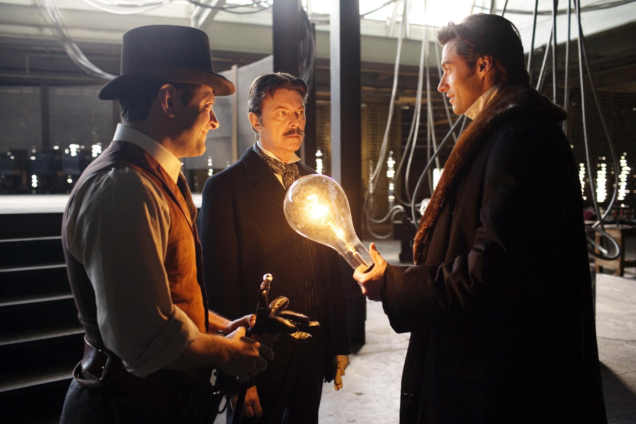 Nikola Tesla, Robert Angier & Mr. Alley