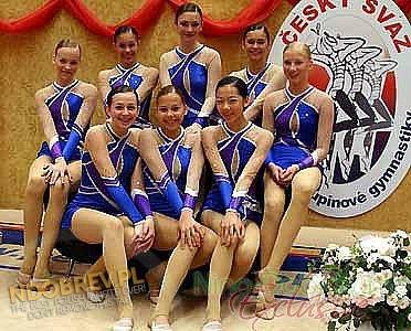 Nina @ Junior World Championships, Czech Republic [2005]