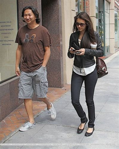 Nina in Beverly Hills.