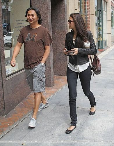 Nina Dobrev kertas dinding with a jalan called Nina in Beverly Hills.