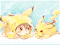 Nishizono Shinsuke and Pikachu! - pikachu photo