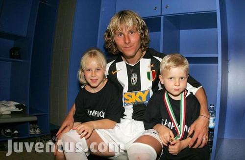 Pavel Nedveds family